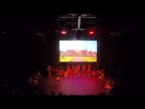Indonesian cultural festival OVERSEAS PROGRAM IIEC (SABAI NAN ALUIH)   PART 1