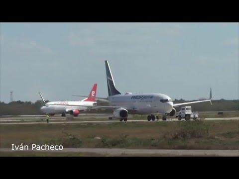 Aviación En Mérida Yucatán // Planespotting Mérida City Airport