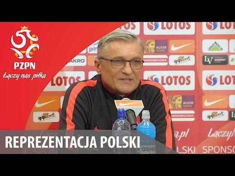 Konferencja reprezentacji Polski (Warszawa, 06.11.2016)