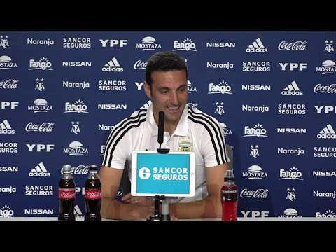 Conferencia de prensa: Lionel Scaloni - DT Selección Argentina