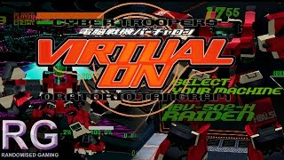 Virtual On Oratorio Tangram - Sega Dreamcast - Raiden Arcade Ver. 5.2 playthrough [HD 1080p 60fps]