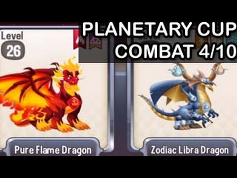 PLANETARY CUP Combat 4 10 In Dragon City Tournaments