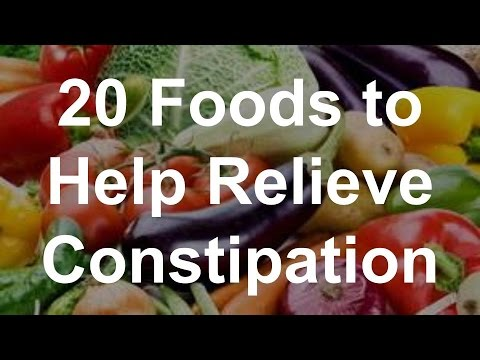 Foods Which Help Fight Constipation