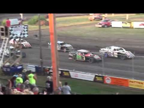 IMCA Sport Mod feature Benton County Speedway 8/4/19