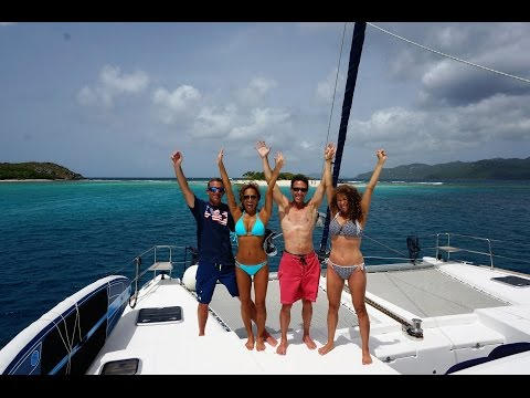 One week sailing vacation on catamaran!