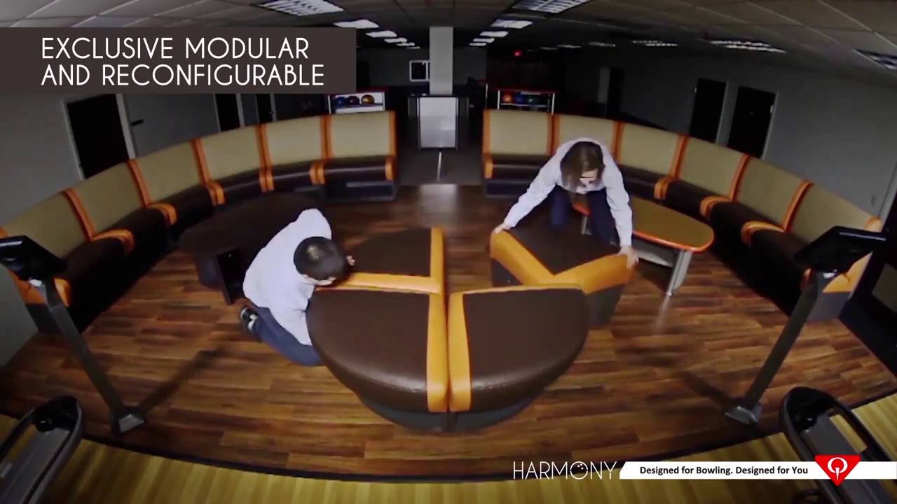 Lovely QubicaAMF Bowling Furniture Equipment. Harmony. OUTRO