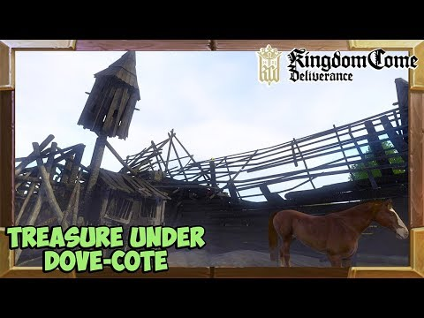 Kingdom Come Deliverance where to find the treasure under the Dove-cote