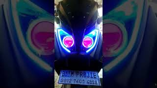 CUSTOM HEADLAMP YAMAHA N MAX BY BAIM PROJIE