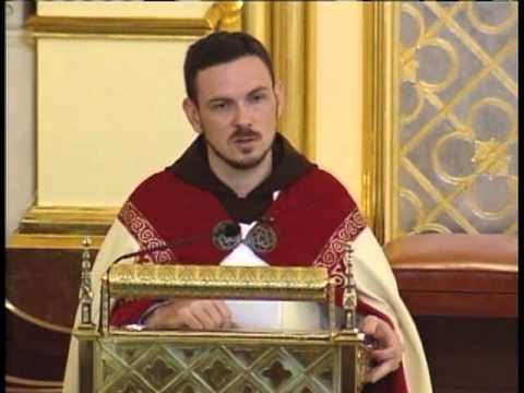 Sunday Benediction - 2013-07-21 - Fr. Patrick Mary - Colossians 1: 24-26