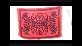 red altar clothes celtic knots wicca pagan wall hanging and bedspread wholesalesarong.com