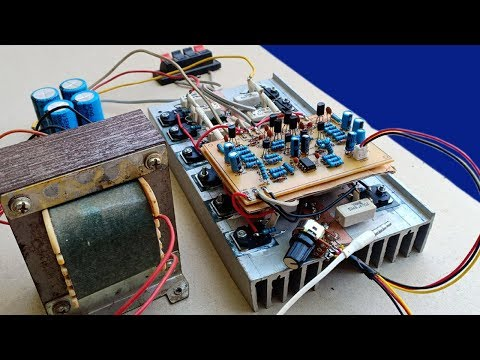 electronic-life-hacks:-audio-stereo-amplifier-500w-using-transistors-d718-and-b688