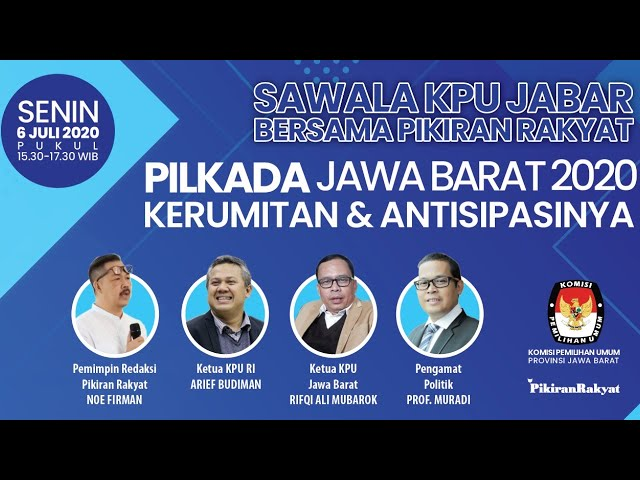 Sawala Pilkada Serentak Jawa Barat 2020