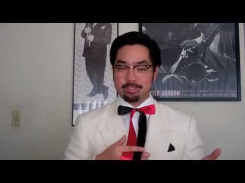 3ed3c9e0d32c How to Tie a Colonel Sanders Bow-tie or String tie - YouTube