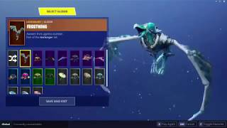**NEW** Upcoming Frostwing glider in action! Dope or nope? 👀 FORTNITE: Battle Royale