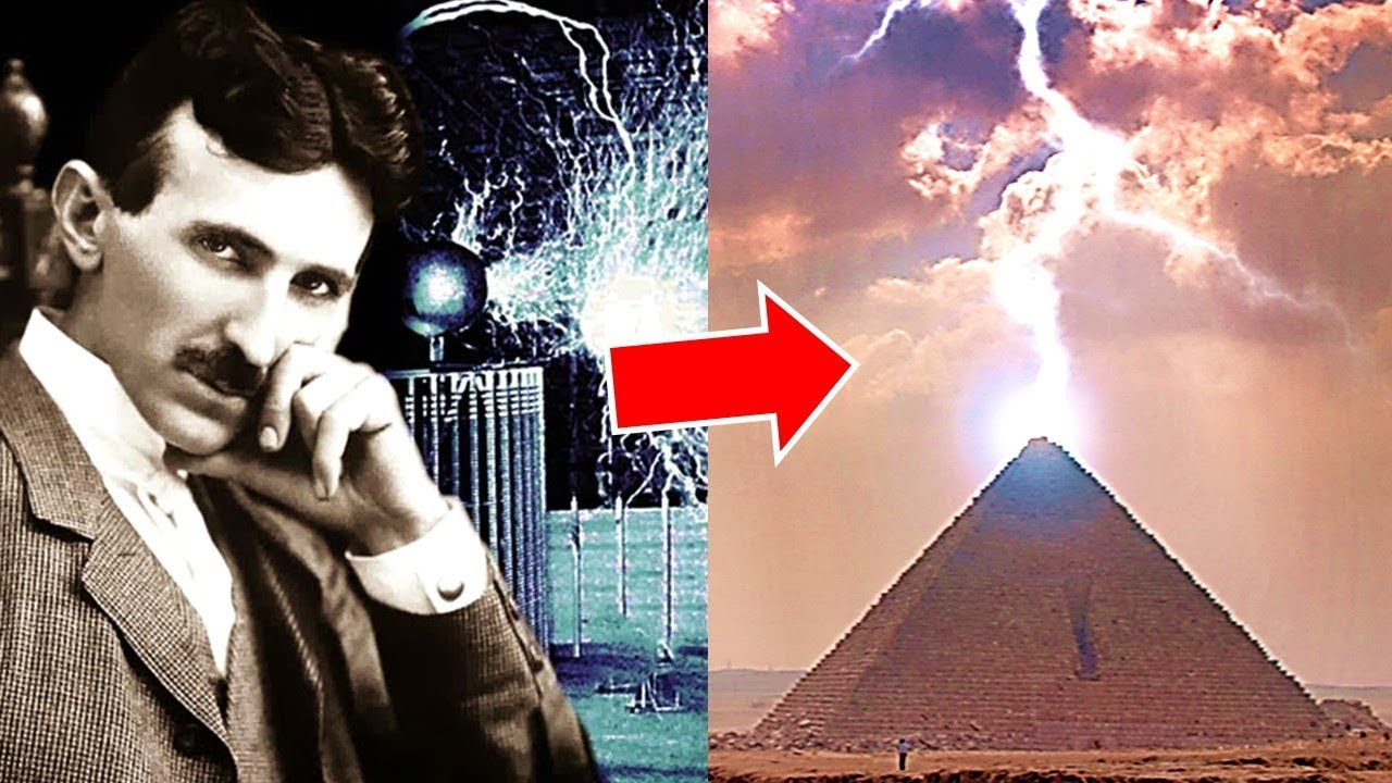 Nikola Tesla & The Great Pyramid of Giza - Lost Ancient Technology & Wireless Energy #1