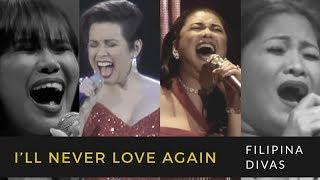 Who sang it better: Lady Gaga - I'll Never Love Again (Filipina Divas)