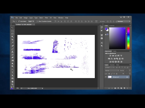 Get Free Inky Grunge Brush Set and See How to Use In Photoshop