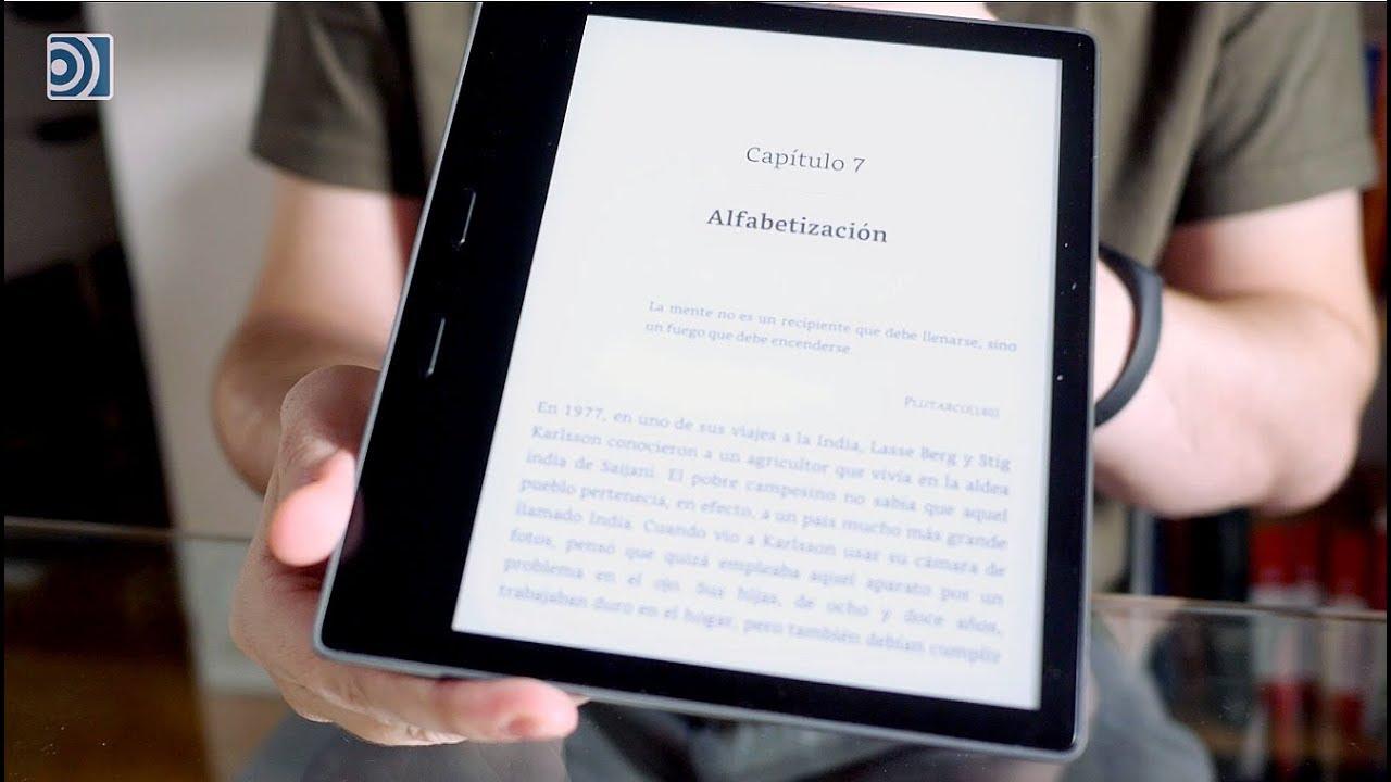 Review del Kindle Oasis 2017, un libro electrónico