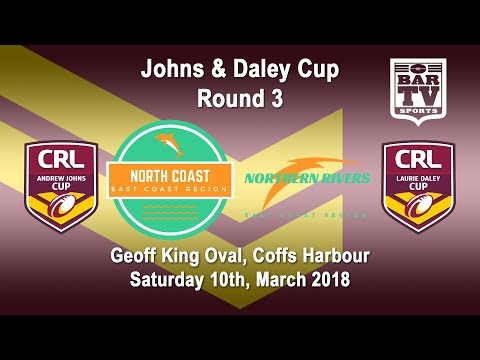 2018 CRL - Andrew Johns and Laurie Daley Cups - Round 3 - North Coast v Northern Rivers