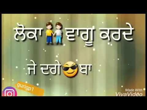 Attt punjabi status full attitude