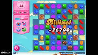 Candy Crush Level 1634 Audio Talkthrough, 3 Stars 0 Boosters