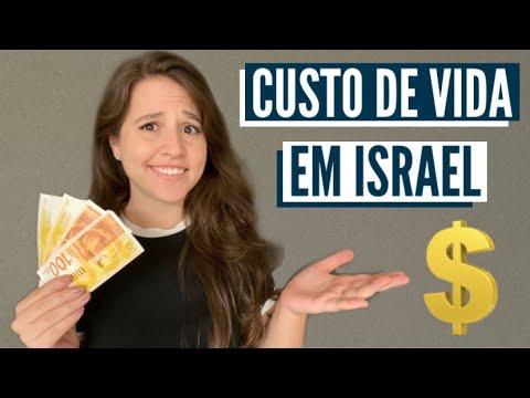 CUSTO DE VIDA EM ISRAEL?! Custo De Vida E Salários, ISRAEL É CARO?