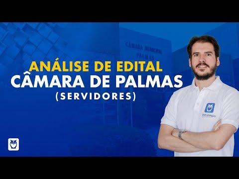 Análise de Edital Câmara de Palmas (Servidores) 2018