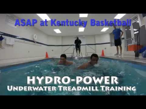 Kentucky Basketball Underwater Treadmill Training