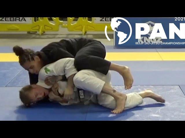 Yara Soares v Sarah Rice / Pan Championship 2021