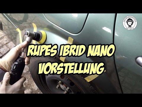Produktvorstellung Rupes iBrid nano Akku-Poliermaschine