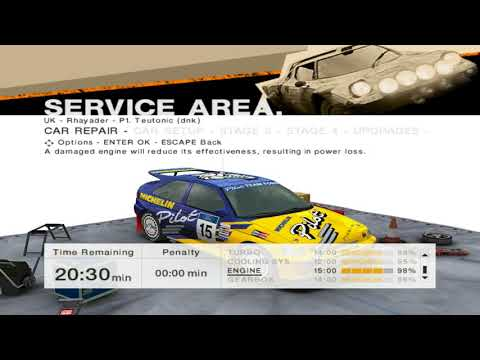 Colin Mcrae Rally 2005 #33 Legends of Rally Championship 3/6