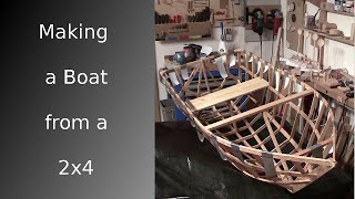 ⚔ Making A Boat From A Single 2x4 [hd]