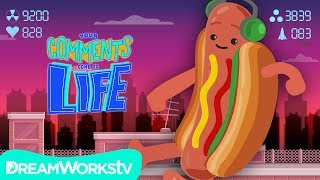 DANCING HOT DOG: The Video Game + More Gaming Gone CRAZY! | YOUR COMMENTS COME TO LIFE