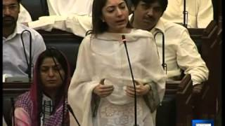 Dunya news - Sharmila asks Nisar if he was Taliban's interior minister