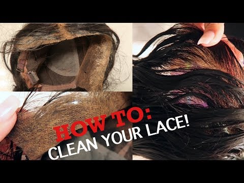 HOW TO CLEAN YOUR LACE FRONTAL