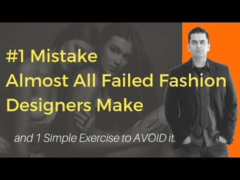 Fashion Brand Failure: #1 Mistake Failed Fashion Designers Make & How to Avoid It