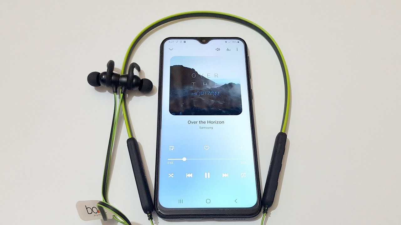 How To Connect Boat Rockerz 255 Wireless Earphone To Mobile Youtube