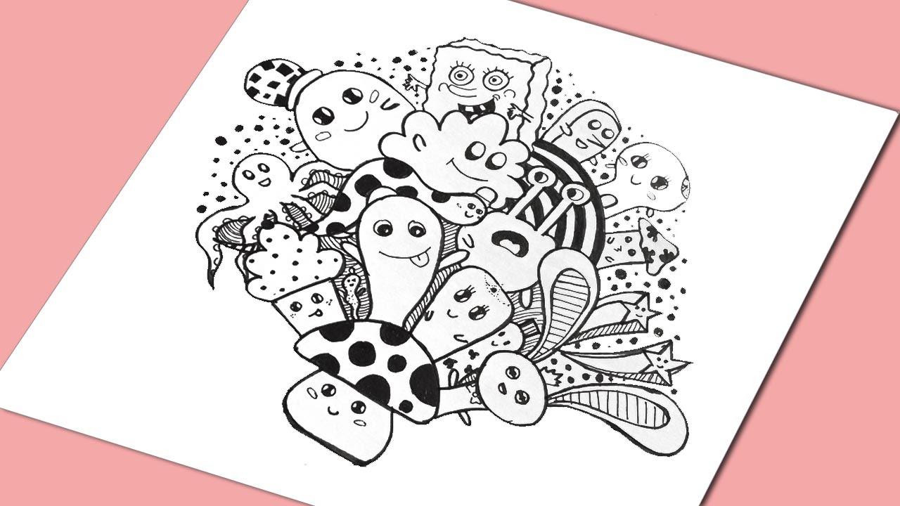Doodle Art   Learn doodling  YouTube