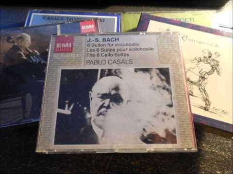 Pablo Casals, Bach: Cello Suites