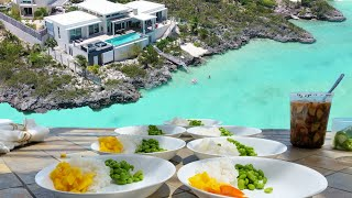 Turks & Caicos Ultimate Experience // Private Chef at the villa // Caicos Cays