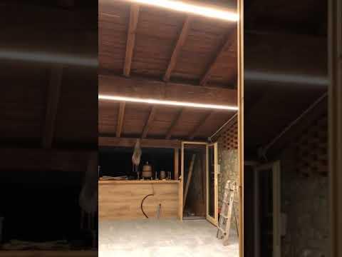 Illuminare la veranda a LED: SI PUÒ FARE!