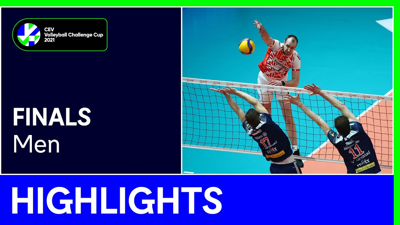 Ziraat Bankasi SK ANKARA vs. Allianz Powervolley MILANO Highlights - #CEVChallengeCupM