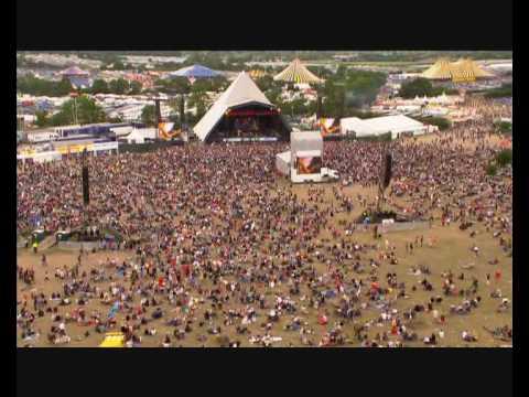 John Mayer - Waiting on the world to change   live at Glastonbury (lyrics)