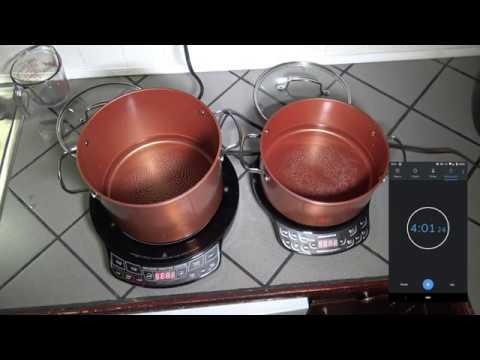 NuWave PIC Pro vs Flex Induction Cooktop & 10-pc Duralon Cookware