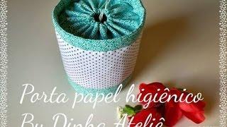 Porta papel higiênico sem ziper