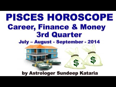 Pisces Predictions July 2014, August 2014, September 2014 Career, Finance & Money