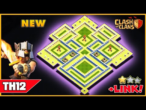 NEW Best Town Hall 12 (TH12) Base 2019 With Replay Proof | TH12 Trophy/Farming Base | Clash Of Clans