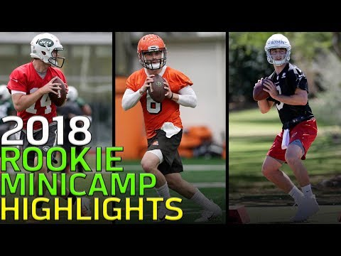 2018 Rookie Minicamp Highlights: Mayfield, Jackson, Griffin, Barkley & More! | NFL
