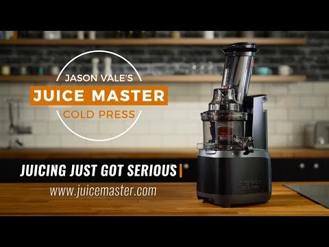 BRAND NEW! Jason Vale's Juice Master Cold Press Juicer