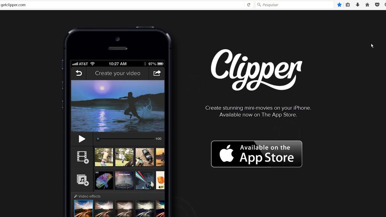 melhor editor de video profissional para iphone